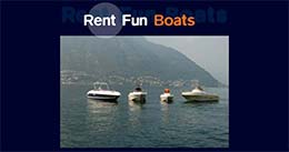 """RENT FUN BOATS"" - Faggeto Lario"