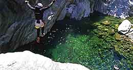 """VAL BODENGO CANYONING"""